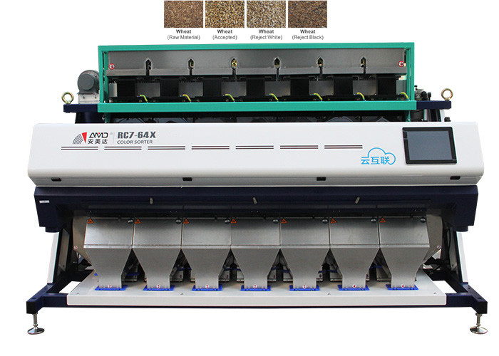 High Stability 1.9-3.2 KW Precision Color Sorter With Image Processing System